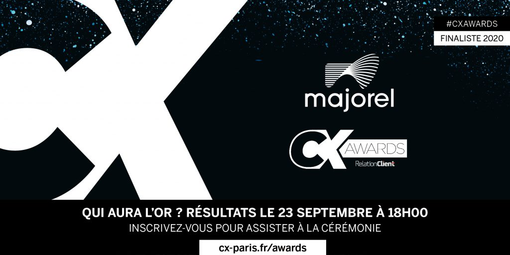 Majorel finaliste des CX Awards